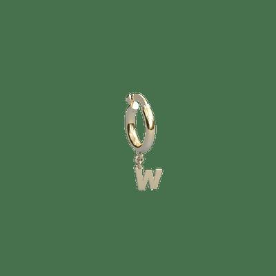 Argola-Letra-W